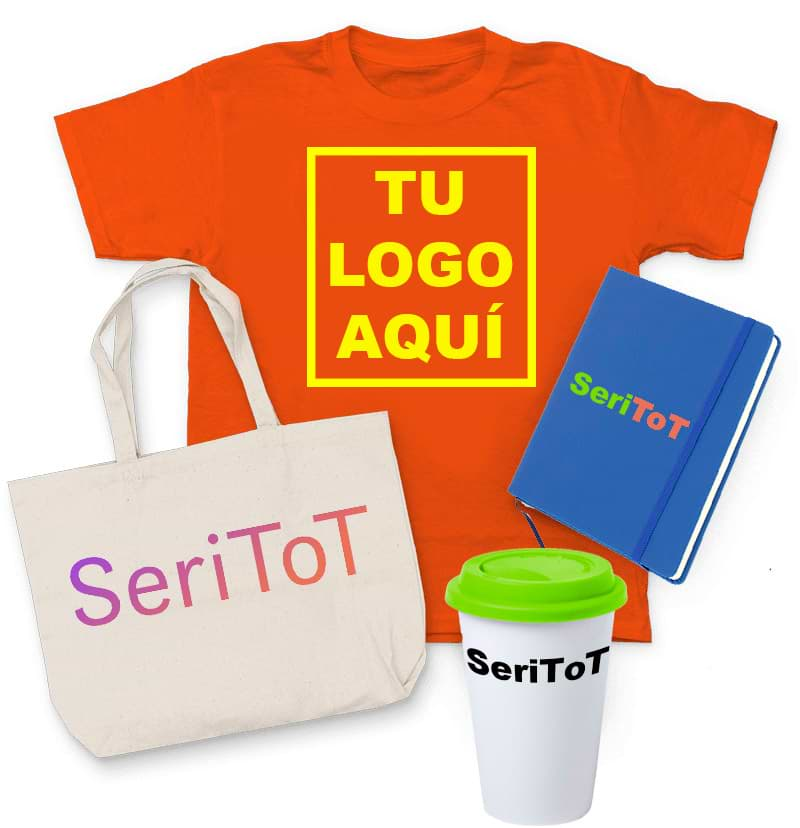 Serigrafia tu logo aqui con Varios productos serigrafiados